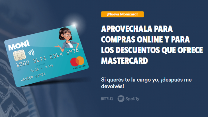 MoniCard Tarjeta Prepaga