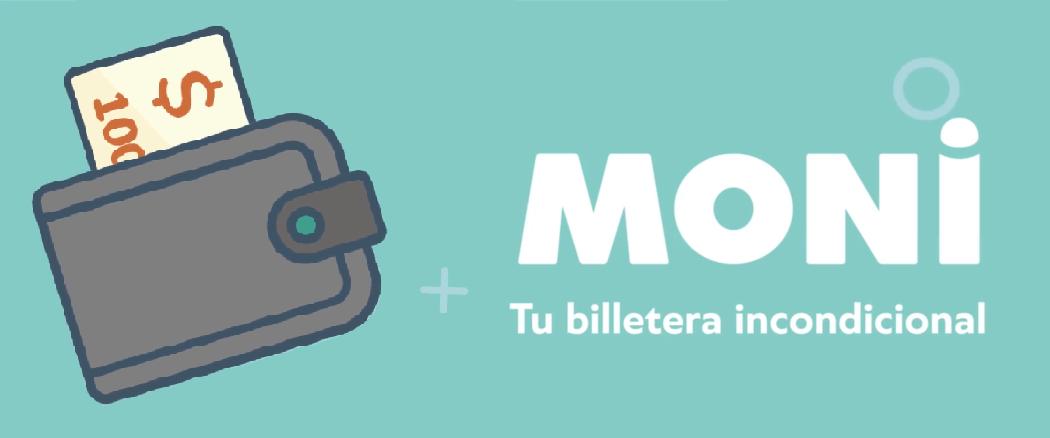 La app de Moni es tu billetera.